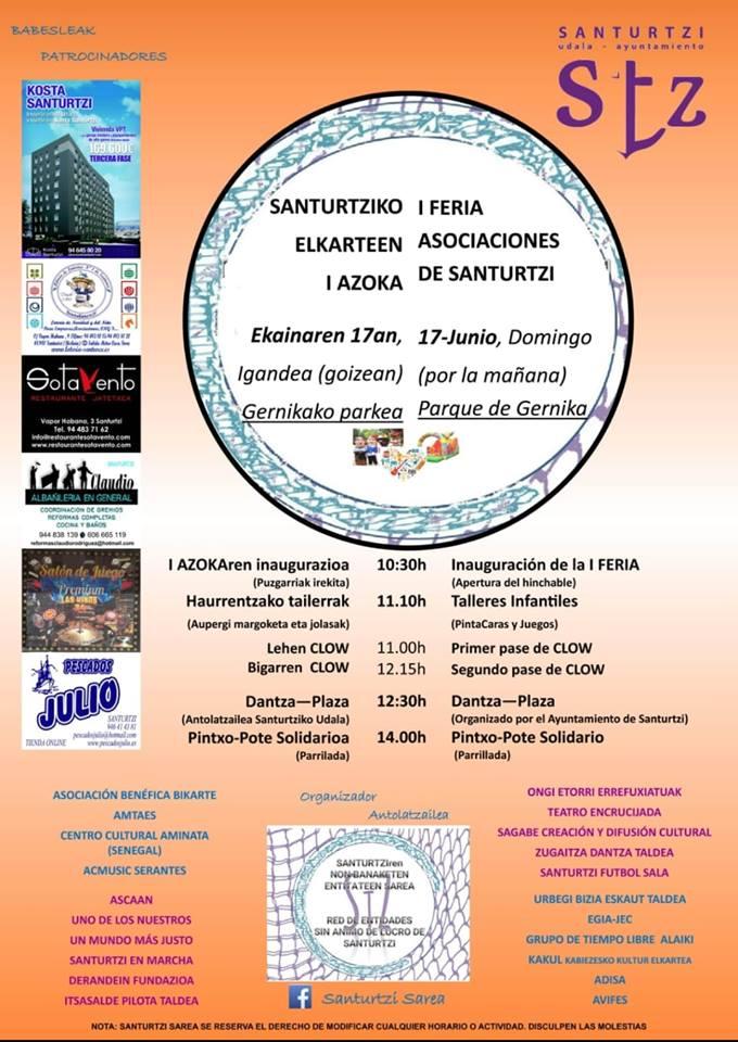 Feria de Asociaciones Santurzi 2018